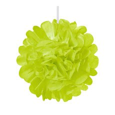 Mini Paper Pom Pom - Grass Green