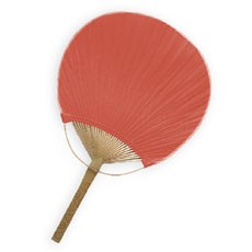 Paddle Fan - Brick / Red