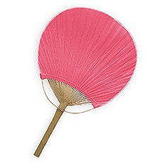 Paddle Fan - Berry / Hot Pink
