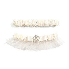 Beverly Clark's Crowned Jewel Bridal Garter