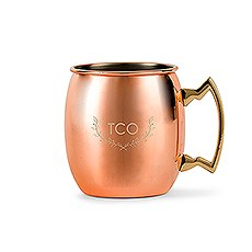Woodland Monogram - Copper Moscow Mule Mug