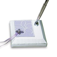 Butterfly Dreams Satin Wrapped Pen Set