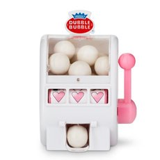 White and Bubble Gum Pink Mini Slot Machine Favor
