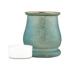 Bell Shaped Glass Tealight Holder