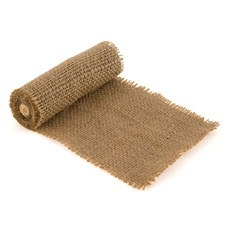Burlap Wrap by the Roll - Wide Brown