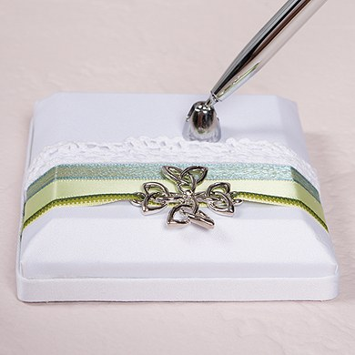 Celtic Charm Designer Wedding Reception Pen Base