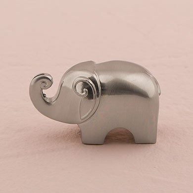 elephant wedding reception place card holders