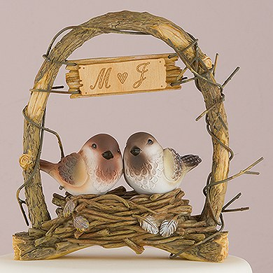 """A Love Nest"" - Love Birds in Archway"