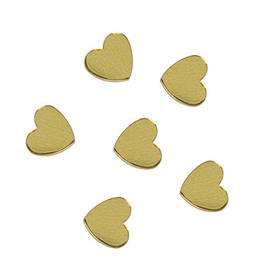 Heart Shaped Metallic Confetti Pack