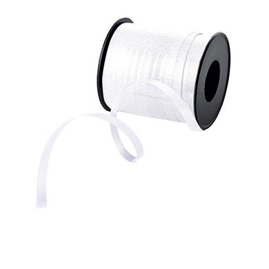 White Curling Ribbon Pack