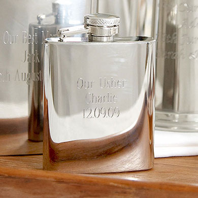 Personalized 3oz Hip Flask