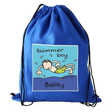 Personalized Swimming Bag Page Boy Gift