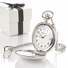Personalized Pocket Fob Watch
