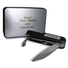 Personalized Pen Knife And Box Set