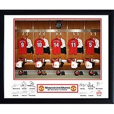 Personalized Football Team Frame Manchester United