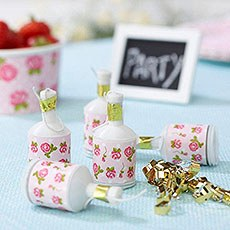 Vintage Rose Party Poppers Pack