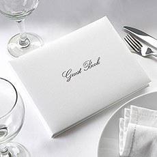 Simply Stylish Wedding Guest Book