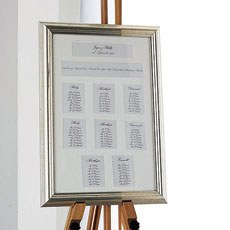 Metallic Framed Table Plan 8 Apertures