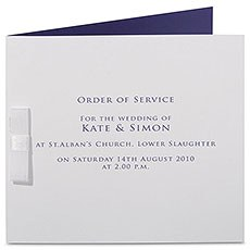 Chelsea Order of Service