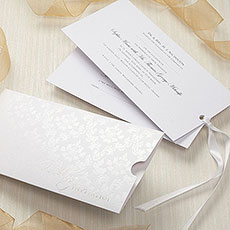 Precious Damask Invitation