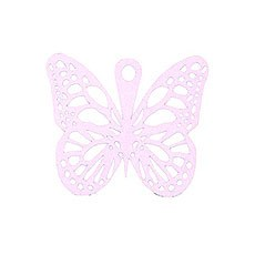 Pink Butterfly Tag Pack