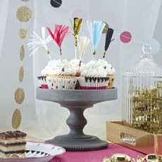 Confetti Party - Cupcake Toppers