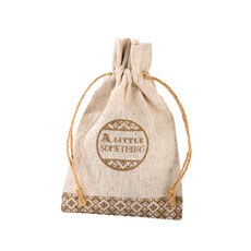 Burlap 'Something Special' Favor Bag