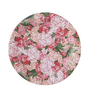 Floral Paper Plates - 8 Pack