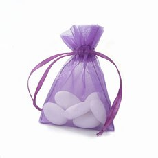 Organza Favor Bag With Drawstring Pack