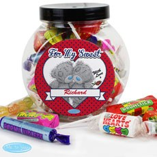 Personalized Me To You Sweet Jar