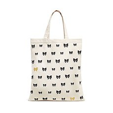 Tie It In A Bow Tote - Gold