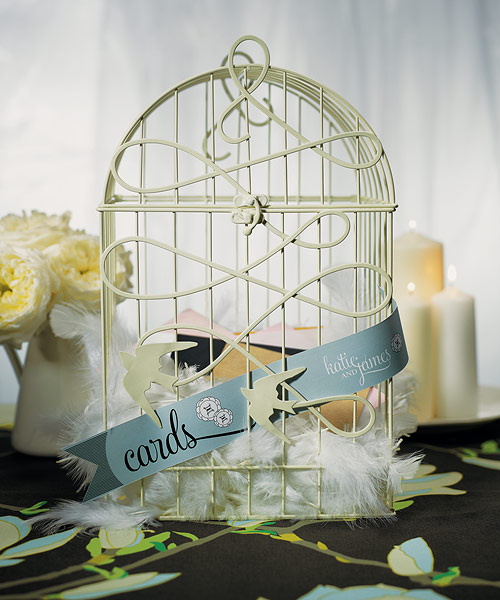 Birdcage Wedding Card Holder: White Birdcage Bird Spring Wedding Decoration Wishing Well