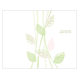 Green Organic Wedding Program
