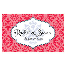 Moroccan Wedding Reception Escort Table Sign Card