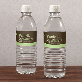 Fairytale Charm Wedding Water Bottle Label Stationery