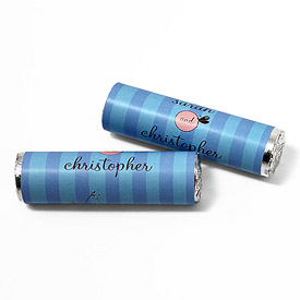 Whimsical Garden Personalized Wedding Candy Roll Wrap
