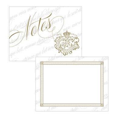 Parisian Love Letter Wedding Note Card