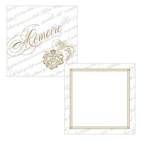 Parisian Love Letter Wedding Memory Box Well Wishing Cards