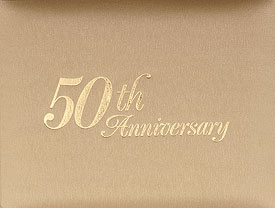 50th Anniversary Guest Book