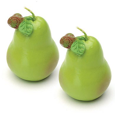 Pear Wedding Favor Candles