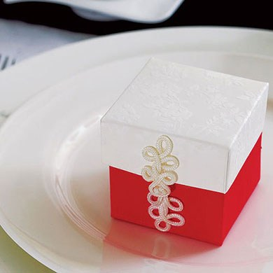 Chinese Wedding Favor Button