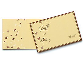 Fall Theme Novelty Wedding Favor Tags