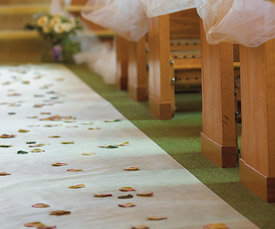 Designer Wedding Ceremony Aisle Runner