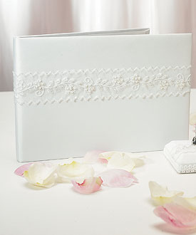 Sweet Art Traditional Wedding Reception Guest Book