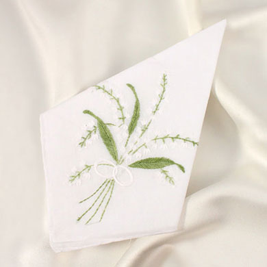 Lily of the Valley Handkerchiefs