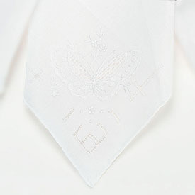 Butterfly Bridal Handkerchief Accessory