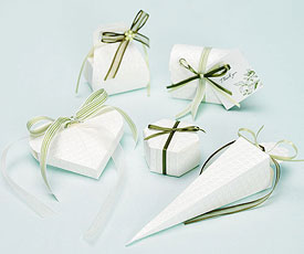 Trapunta Wedding Favor Boxes
