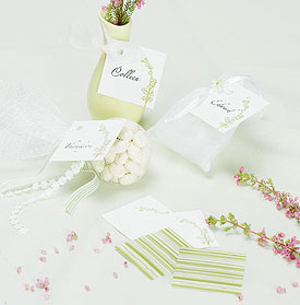 Lily of the Valley Favor Tags