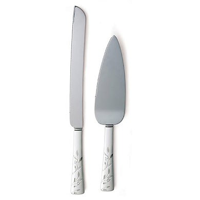 Venice Silver Wedding Serving Set