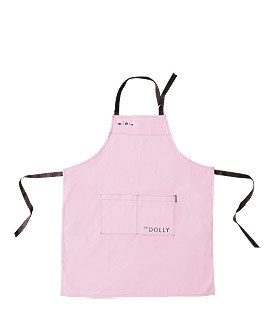 Pink Cotton Apron Wedding Gift